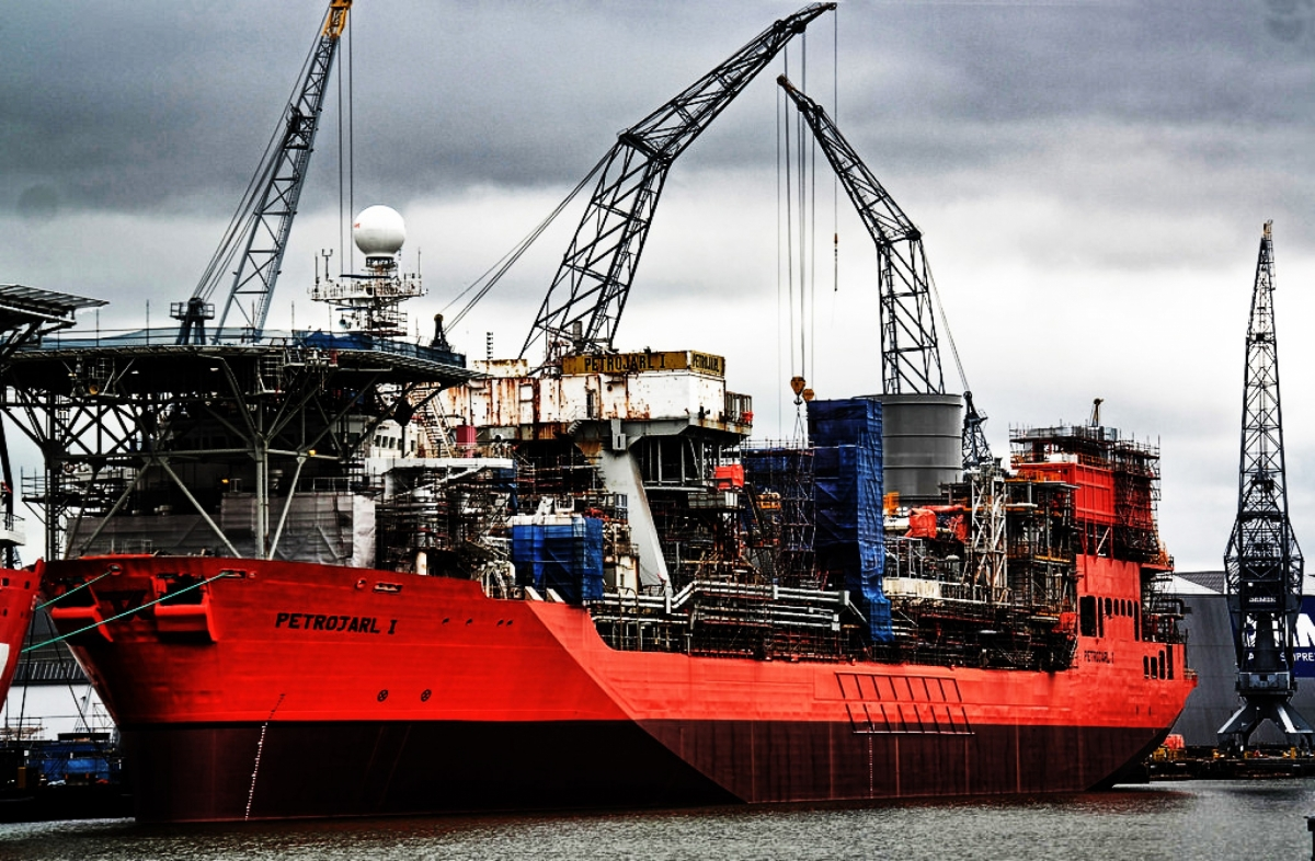 Conversion Petrojarl I - Damen Offshore & Conversions